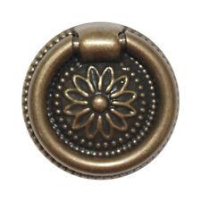Lot of 10 Vintage Bronze Swing 37mm Knobs Cabinet Dresser Drawer Pulls KOO-22