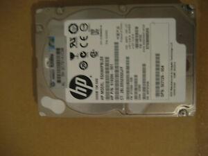 disque dur SAS   2.5 pouces  30 gb  10K sas model eg0300fblse  pour pieces HS