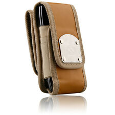 iPhone 5/5s/6/6s Cases Brown/Black Gladiator Belt Clip Heavy Duty