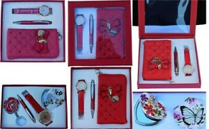 For Girls, Christmas Gifts, Stocking Fillers, Watch & Soft Small Purse and pen