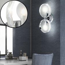 Applique luminaire mural chrome verre cristal lampe éclairage salle Globo41538-2