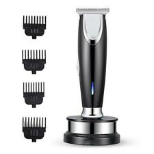 Mens Cordless Hair & Beard Trimmers Shavers Clippers Cut Face Grooming Kit UK