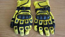 Men's XL Arctiva Comp 2 Light Weight Winter Snowmobiling Gloves Yellow & Black