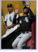 Eloy Jimenez 2019 Topps Gold Label Class One 5x7 Gold #98 /10 White Sox