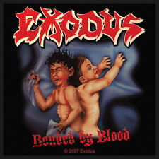 EXODUS - Patch Aufnäher - Bonded by blood neu 10x10cm