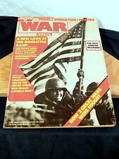 Argosy Pub WAR Annual Collector's Edition Magazine WWI/WWII Recruitment Posters!