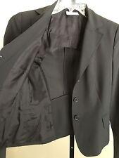 Akris Punto 4 100% Wool Black Blazer Jacket