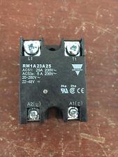 Carlo Gavazzi Solid State Relay RM1A23A24 25A 230V 5A 230V 20-280VAC 22-28VDC