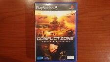 1088 Playstation 2 Conflict Zone Modern War Strategy PAL PS2