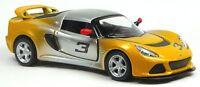 2012 Lotus Exige S Sportwagen Sammlermodell gelb/silber ca.1:32 Neuware KINSMART