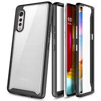 For LG Velvet 5G Phone Case Full Body Protection Shockproof Bumper Rugged Cover