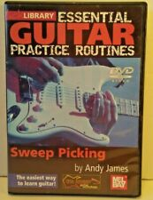 Lick Library Sweep Picking DVD Andy James ALL REGIONS