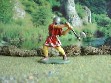 Vintage Medieval English man at arms with axe 1:35 painted