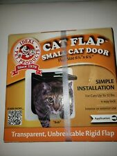 """Ideal Pet Products Small Cat Flap Door with 4 Way Lock, 6.25"""" x 6.25"""" Flap Size"""
