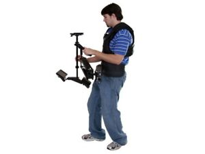 Varizoom Aviator Fully Supported Dual Arm Camera Stabilizer w NP Battery Mount