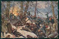 Militari La Grande Guerra Europea Tedeschi Polli serie 719-2 cartolina XF8216