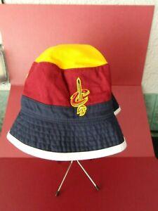 VINTAGE NBA Cleveland Cavaliers Bucket HAT  MITCHELL & NESS L / XL  Free Ship.