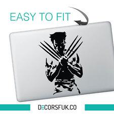 Wolverine Macbook Stickers on black vinyl | Laptop stickers | Movie stickers