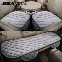Plush Auto Car Seat Cover Cushion Pad Protector Chair Mat Front Rear Universal