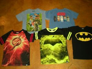 Aquaman DC Comics Justice League Baby Jungen Kurzarm Body The Flash Green Lantern /& Batman Superman 5er Pack