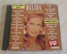 CD ALBUM LES PLUS GRANDS SUCCES DALIDA MON AMOUR 15 TITRES 1989 BEST OF
