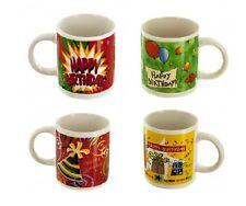 Happy Birthday Ceramic Mug - Each - Assorted Styles