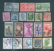 Italy Mix used stamps #1