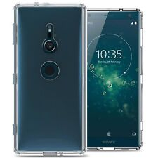 For Sony Xperia XZ2 Case Hard Back Bumper Slim Shockproof Phone Cover