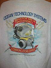 Communications Diver Ocean Technology System divator mk 2 interspiro gray L tee