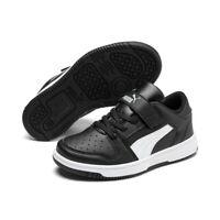 Puma Unisex Kinder Rebound LayUp Lo SL v PS Schuhe Sneaker 370492 Schwarz
