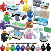 8pcs/set Among US minifigures lot action toy SUS model building blocks decor NEW