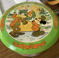 Walt Disney Merry Christmas Limited Edition Metal Candy Collector's Tin Vol.111