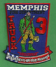 MEMPHIS TENNESSEE FIRE DEPARTMENT TRUCK COMPANY 3 PATCH THE HULK