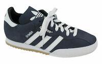 Adidas Originals Samba Super Shoes Mens Lace Up Trainers Navy 019332 B25A
