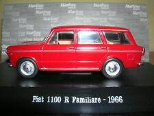 Starline Fiat 1100 R 1100r Familiare Year 1966 Red Red 1:43
