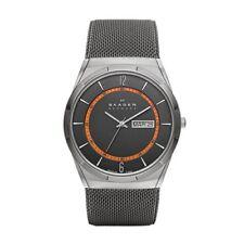 Skagen SKW6007 Grey Mesh Titanium Men's Watch New