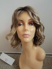 JON RENAU Beach Waves Synthetic Lace Front Wig, Average, Blonde 12FS8