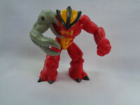 Gormiti Giochi Preziosi PVC Action Figure Red / Yellow / Gray Claw Arm # 9