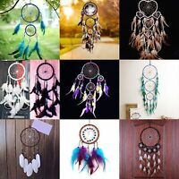 Dream Catcher Net with Feathers Car Wall Hanging Decoration Ornament Craft  pop