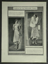 Artelle Knightsbridge Fashion Casino Dress Bertram Park 1929 Ad Advertisement