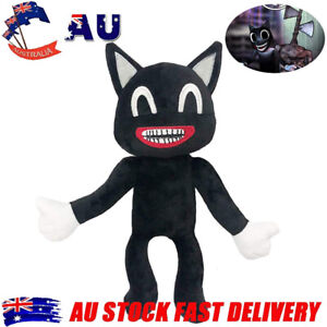 Siren Head Horror Black Cat Plush Toys Cartoon Soft Stuffed Dolls Birthday Gifts