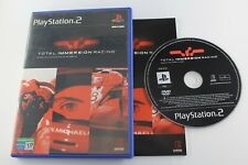 PLAY STATION 2 TOTAL IMMERSION RACING COMPLETO PAL ESPAÑA
