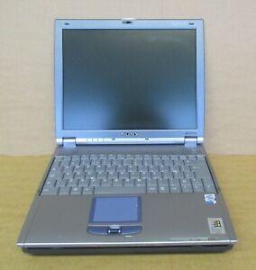 "Sony PCG-651M 12.1"" Pentium III 1.2Ghz Laptop with Docking Station PCG-R600HMKD"