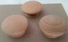 WOODEN DRAWER UNSTAINED KNOBS - 24
