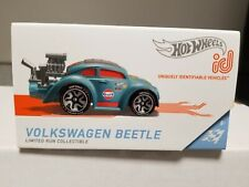 Hot Wheels Id Series 2 Volkswagen Beetle Gulf Limited Run Collectible Free Ship