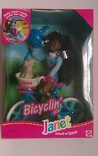 Vintage Bicyclin' Janet Friend of Stacie AA Barbie Doll New 1996 Mattel 16735