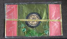 Cubierta caja de pañuelos en diseño colorido con simulado Lucky jade estilo chino (6)