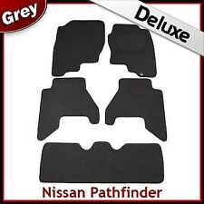 Fits for Nissan Pathfinder 2005-2008 Tailored LUXURY 1300g Car Mats GREY