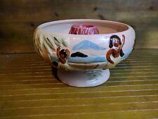 Mysterious White Volcano Bowl Tiki Mug