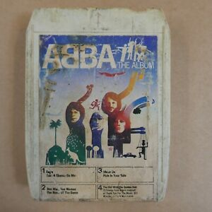 8 track cartridge ABBA the album ,  NOT SERVICED